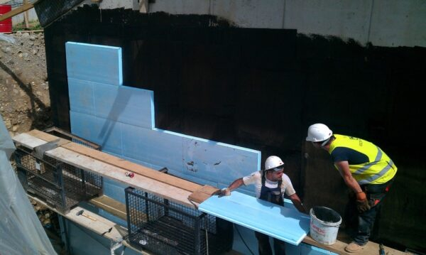 outer basement waterproofing system