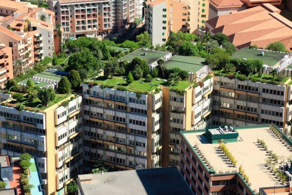 Monte Carlo green rooftops by LEED standard