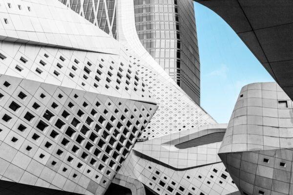 Futuristic roof