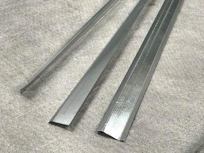 Завършващ метален профил от поцинкована ламарина S1 (1 бр.=2мл)