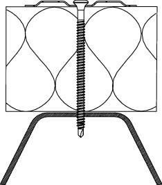 Винт за ламарина Eurofast 4.8 x 100