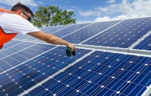 поставяне на слънчеви панели