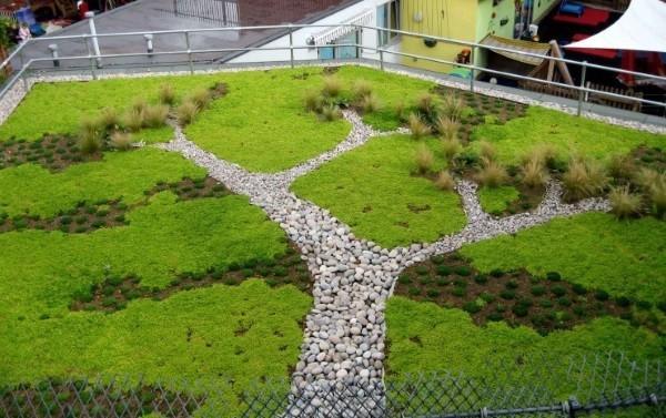 treeshape green roof