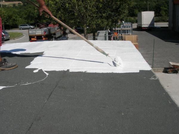 white fibrous PVC membranes