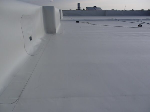 Excellent job on a waterproofed roof