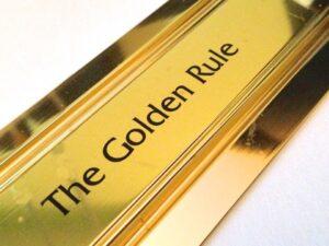 The Golden Rule of waterproofing