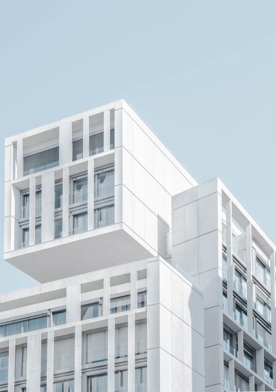 Passive modern building